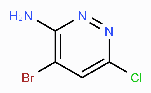3-氨基-4-溴-6-氯哒嗪