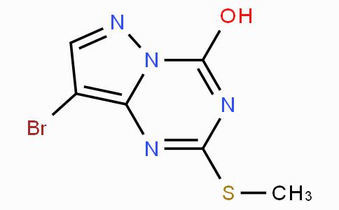 8-Bromo-2-(methylthio)pyrazolo[1,5-a][1,3,5]triazin-4-ol