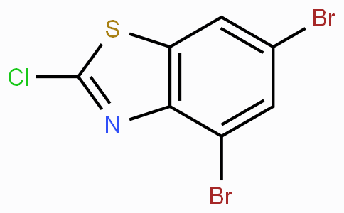 2-Chloro-4,6-dibromobenzothiazole