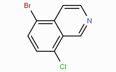 5-Bromo-8-chloroisoquinoline