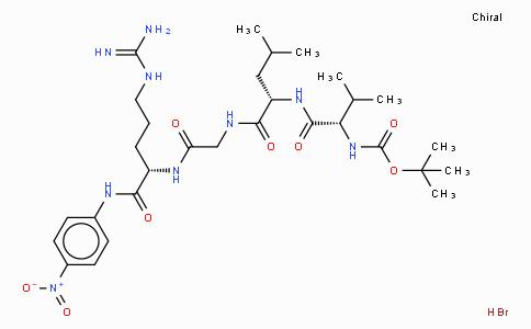 N-t-boc-val-leu-gly-arg p-nitroanilide hydrobromide