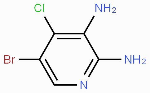 5-Bromo-4-chloropyridine-2,3-diamine