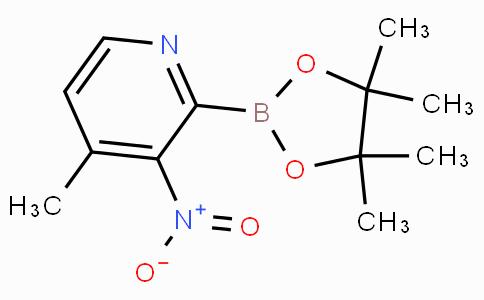 4-Methyl-3-nitropyridine-2-boronicacidpinacolester