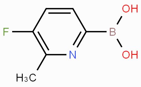 5-Fluoro-6-methylpyridine-2-boronicacid