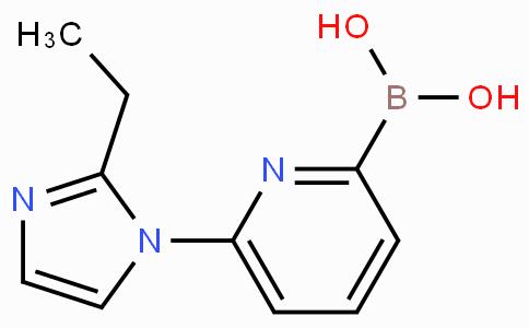 6-(2-Ethylimidazol-1-yl)pyridine-2-boronicacid