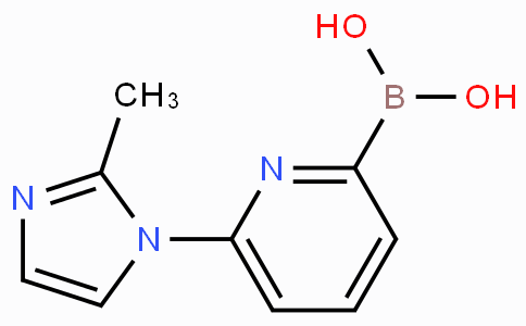 6-(2-Methylimidazol-1-yl)pyridine-2-boronicacid