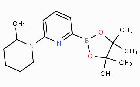 6-(2-Methylpiperidin-1-yl)pyridine-2-boronicacidpinacolester