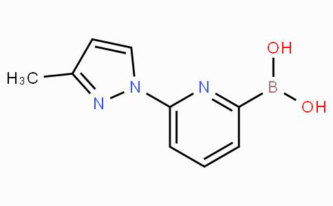 6-(3-Methyl-1H-pyrazol-1-yl)pyridine-2-boronicacid