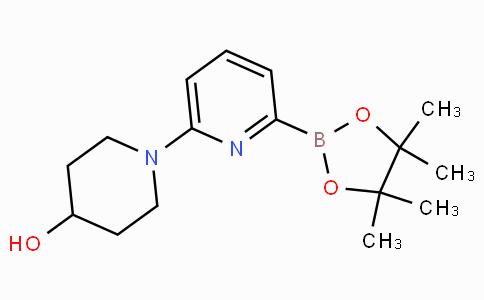 6-(4-Hydroxypiperidin-1-yl)pyridine-2-boronicacidpinacolester