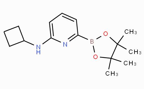 6-(Cyclobutylamino)pyridine-2-boronicacidpinacolester