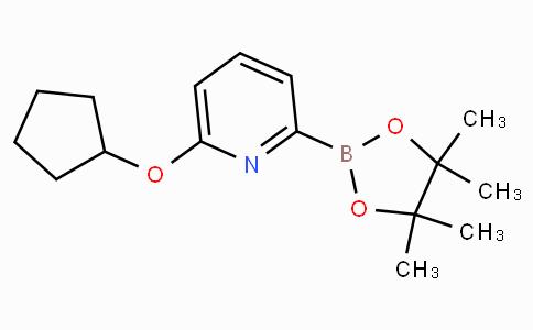 6-(Cyclopentoxy)pyridine-2-boronicacidpinacolester
