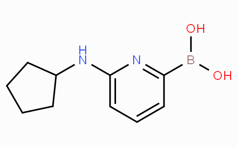 6-(Cyclopentylamino)pyridine-2-boronicacid