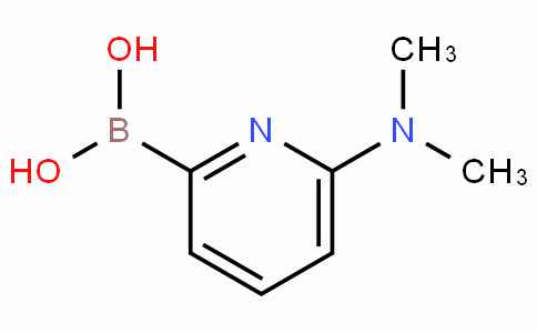 6-(Dimethylamino)pyridine-2-boronicacid