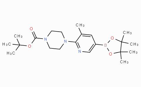 2-(4-Boc-piperazin-1-yl)-3-methylpyridine-5-boronicacidpinacolester