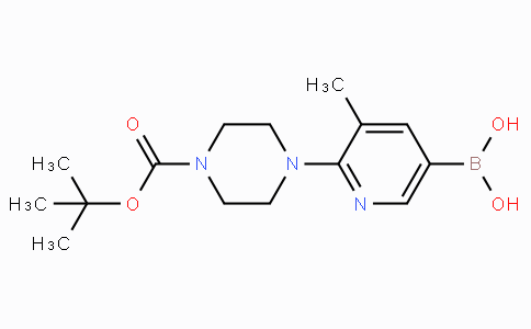 2-(4-Boc-piperazin-1-yl)-3-methylpyridine-5-boronicacid
