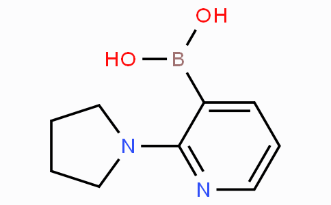 2-(Pyrrolidin-1-yl)pyridine-3-boronicacid