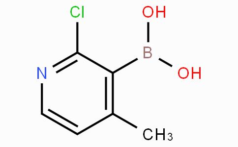 2-Chloro-4-methylpyridine-3-boronicacid