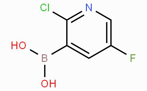 2-Chloro-5-fluoropyridine-3-boronicacid