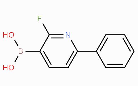 2-FLUORO-6-PHENYLPYRIDINE-3-BORONIC ACID