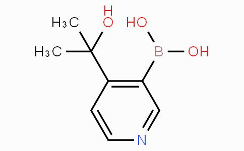 4-(2-Hydroxypropan-2-yl)pyridine-3-boronicacid