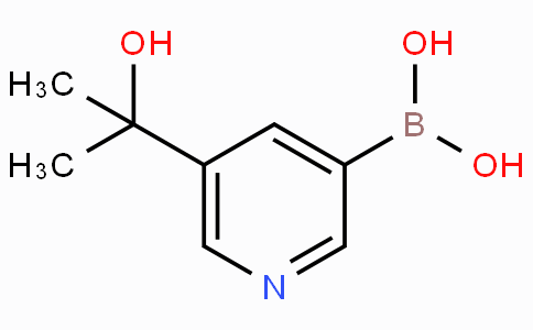 5-(2-Hydroxypropan-2-yl)pyridin-3-ylboronicacid