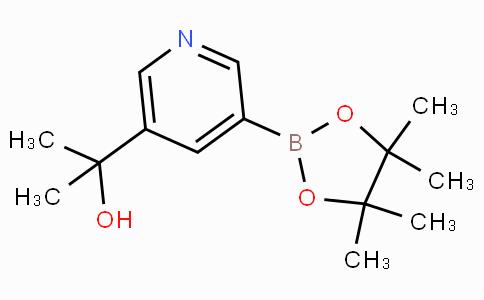 5-(2-Hydroxypropan-2-yl)pyridin-3-ylboronicacidpinacolester