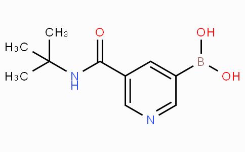 5-(tert-Butylcarbamoyl)pyridine-3-boronicacid