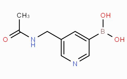 5-[(Acetylamino)methyl]pyridine-3-boronicacid