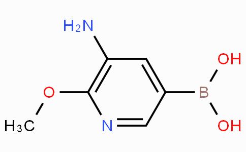 5-Amino-6-methoxypyridine-3-boronicacid