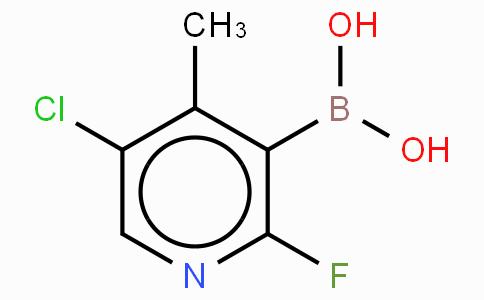 5-Chloro-2-fluoro-4-methylpyridne-3-boronicacid