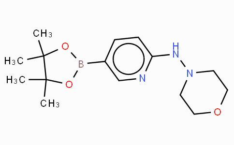 6-(4-Morpholineamino)pyridine-3-boronicacidpinacolester