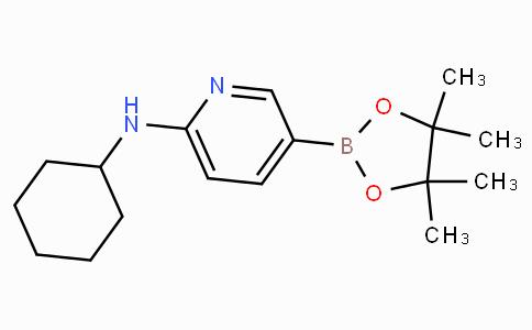 6-(Cyclohexylamino)pyridine-3-boronicacidpinacolester