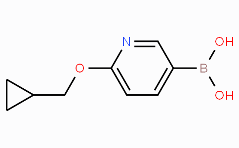 6-(Cyclopropylmethoxy)pyridine-3-boronicacid