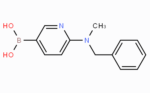 6-[Benzyl(methyl)amino]pyridine-3-boronicacid