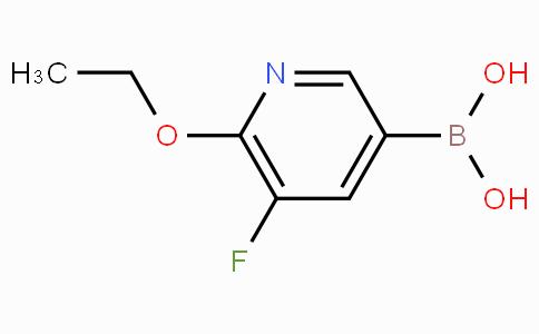 6-Ethoxy-5-fluoropyridine-3-boronicacid