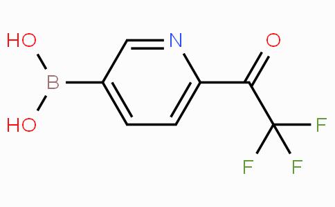 6-Trifluoroacetylpyridine-3-boronicacid