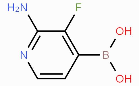 2-Amino-3-fluoropyridine-4-boronicacid