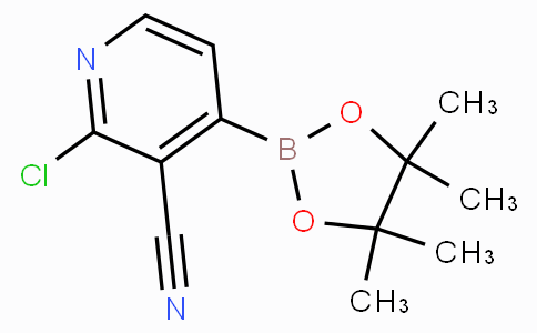 2-Chloro-3-cyanopyridine-4-boronicacidpinacolester