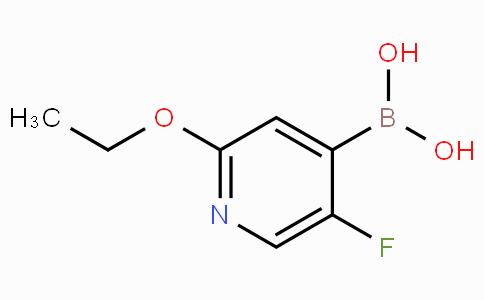 2-Ethoxy-5-fluoropyridine-4-boronicacid