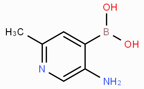2-Methyl-5-aminopyridine-4-boronicacid