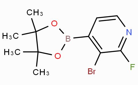 3-Bromo-2-fluoropyridine-4-boronicacidpinacolester