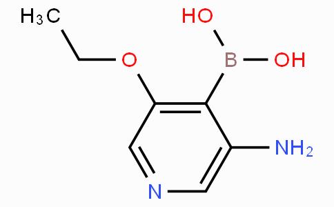 3-Ethoxy-5-aminopyridine-4-boronicacid