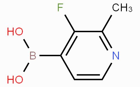 3-Fluoro-2-methylpyridine-4-boronicacid