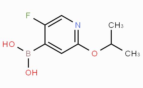 5-Fluoro-2-isopropoxypyridine-4-boronicacid