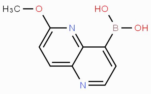 6-Methoxy-1,5-naphthyridine-4-boronicacid