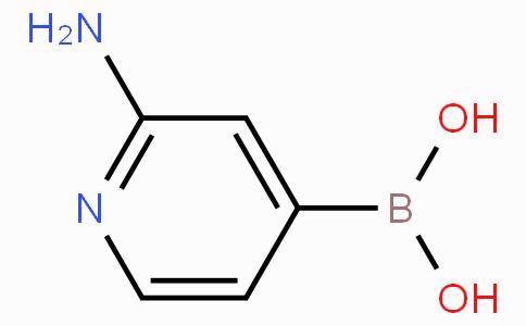 (2-Aminopyridin-4-yl)boronicacid