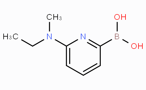 6-(Ethyl(methyl)amino)pyridin-2-ylboronic acid