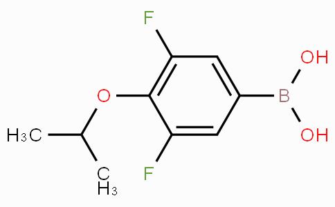 3,5-二氟-4-异丙氧基苯硼酸