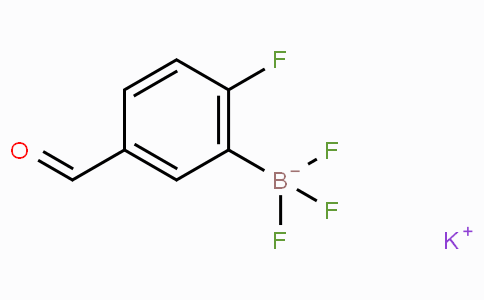 Potassium 2-fluoro-5-formylphenyltrifluoroborate