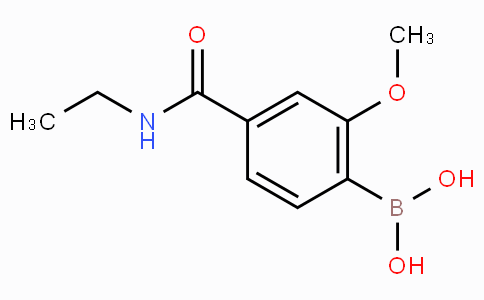4-(Ethylcarbamoyl)-2-methoxyphenylboronic acid